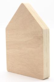 Multiplex huisje 9x6,5cm