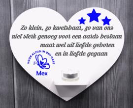 gedenkbord hart