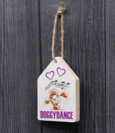 teksthanger doggydance