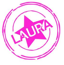 Sticker kamerdeur meisje met ster