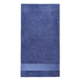 Handdoek met naam 70x140cm navy