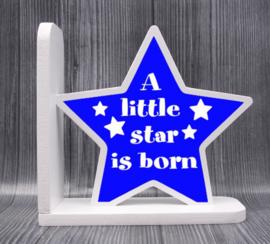 Boekensteun A little star.. jongen/meisje