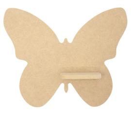 wandbord vlinder 30bx24,5h