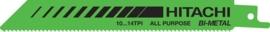 RD30B reciprozaagblad metaal + hout 19mm 150 / 128,5L TPI 10-14 Bi-Metal (5 stuks)