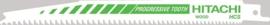 RPW80 reciprozaagblad hout 19mm 200 / 178,5L TPI 6-10 / HCS (3 stuks)