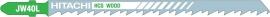 Decoupeerzaagje 132,0 / 107,0 x 7,2 x 1,7 mm (5 stuks)