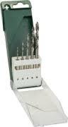 CV-Spiraalboren met cilindrische opnamen set 5 delig