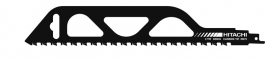 RB70 reciprozaagblad steen 50mm 305 / 283,5L TPI 2 HM/TC