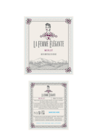 La Femme Elegante Merlot (6 stuks)