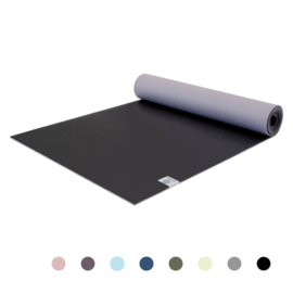 Love Generation - Premium Yogamat 6mm -Diamond Black - Zwart