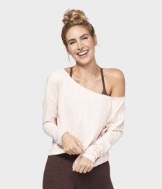 Adorn Boxy Top - Blush