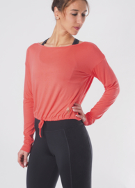 Yoga Top Aditi - Coral