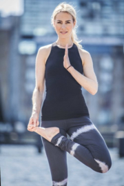 Prana Yoga Top - Urban black