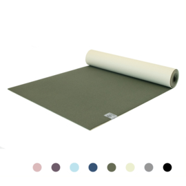 Love Generation - Premium Yogamat 6mm - Magical green - Groen