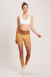 24 K CROC HIGH WAISTED BAREFOOT LEGGING