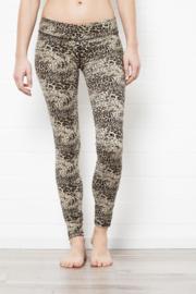 Super High Waist Leggings - Cream Leopard