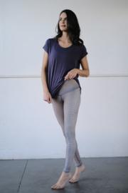 Fawn Diamondback Barefoot Legging