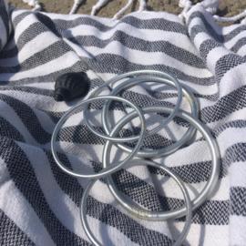Silverleaf mantra armband - Dik of Dun