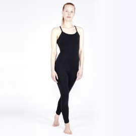 Yoga Jumpsuit Cross SOFT BLACK
