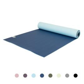 Love Generation - Premium YogaMat 6mm - Cosmic Blue - Blauw Divine Aqua