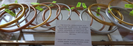 Copperleaf mantra armband - Dik  of Dun