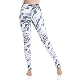 Ultra High-Waist Eco Legging Zebra