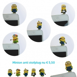 Minion anti stof plug