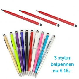 3 x Pen Stylus-Stift