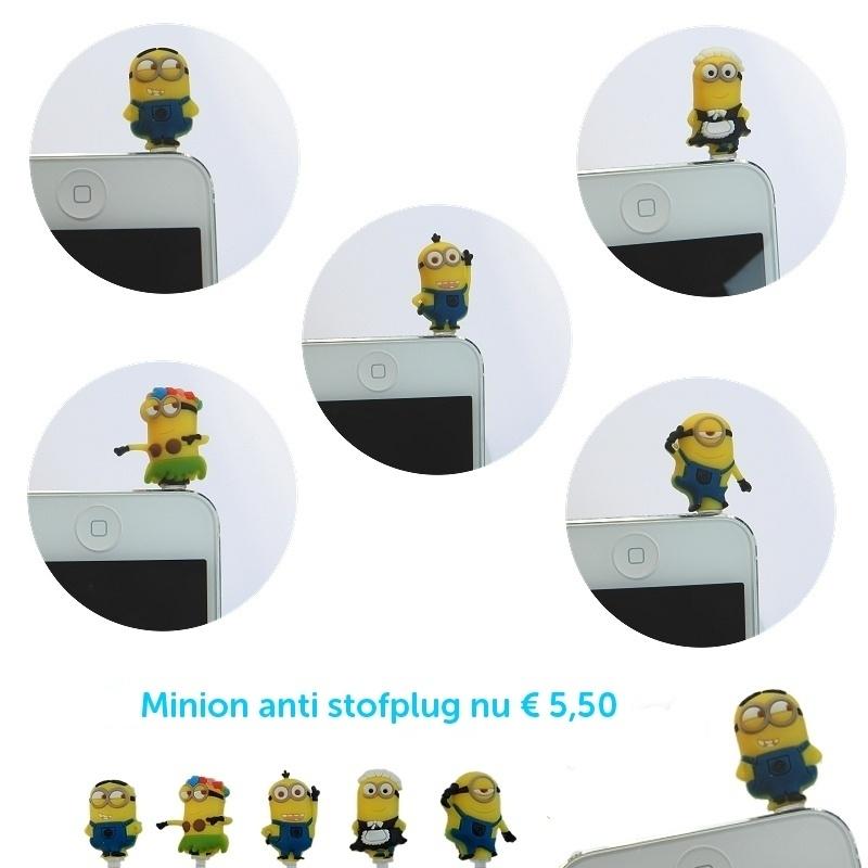 Minion anti stof plug