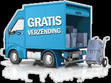 geen verzendkosten in belgië en nederland