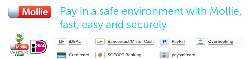 veilig betalen in onze webshop