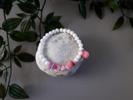 BFF armbandje roze