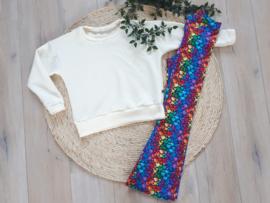 sweater diamond white