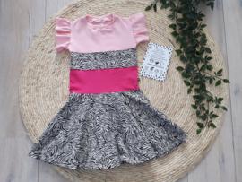 jurkje zebra pink