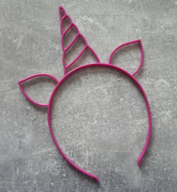 diadeem eenhoorn paars