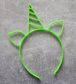 diadeem eenhoorn groen
