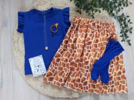 midi skirt giraf