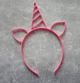 diadeem eenhoorn roze