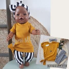 poppen set oversized shirt en legging