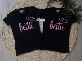 Set van 2 shirtjes bestie
