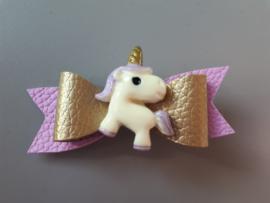 haarspeldje unicorn lila