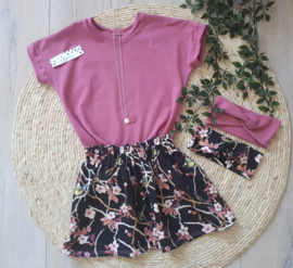 haarband oud roze