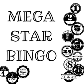 Mega Mini Star Bingo