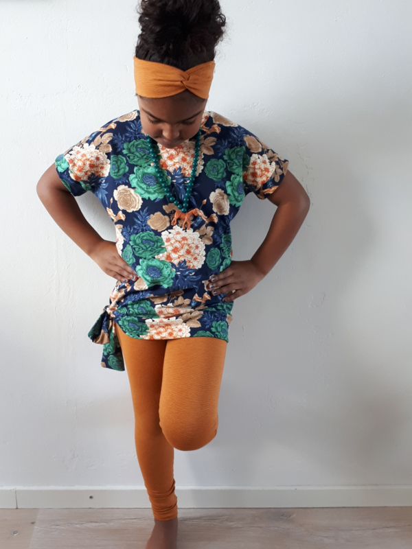 haarband orange stripes