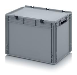 Transportbox met deksel, PP,  600x400x420