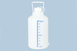 Voorraadfles 10 liter met maatverdeling