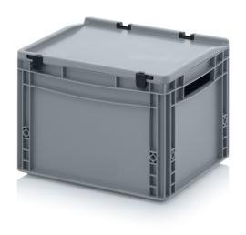 Transportbox met deksel, PP,  400x300x270
