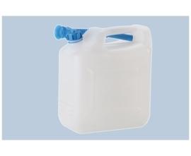 10 liter met tuit