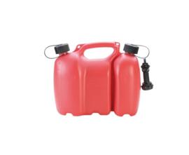 6 + 3 liter rood