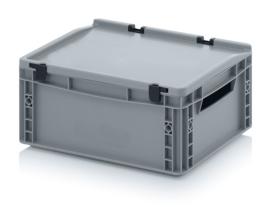 Transportbox met deksel, PP,  400x300x170